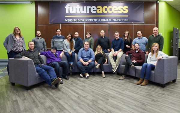 niagara region digital marketing and web development agency, future access team photo. st catharines ontario