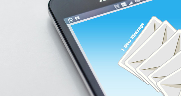 emails on a smartphone. the do's and don'ts to email marketing with niagara based digital agency, future access